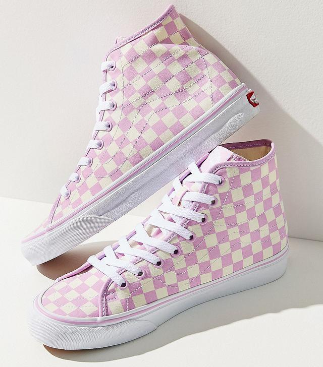 Vans Party Checkerboard Sk8-Hi Decon Women's Sneaker