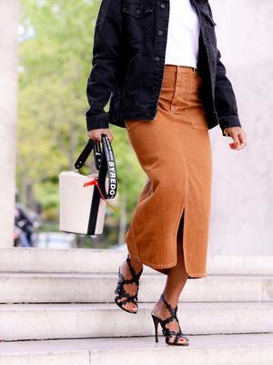 I'm Totally Here for This Ultra-Flattering New Skirt Length