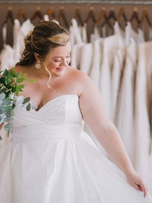 Where to Buy a Wedding Dress When You're a Size 14 or Above