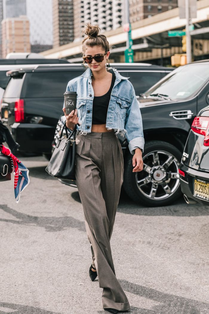 Cropped jackets for summer