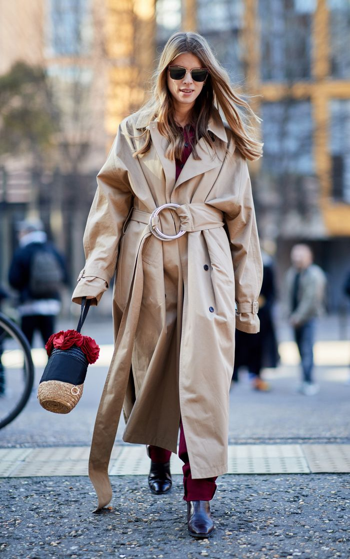 classic fashion items: trench coat