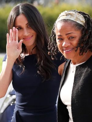 Meghan Markle Just Arrived at Her Wedding Hotel With a Clue About Her Dress