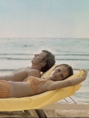 Yes, Polka-Dot Swimsuits Come Back Every Season