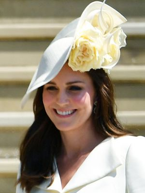 Kate Middleton Wore Naked Shoes to Meghan Markle's Wedding