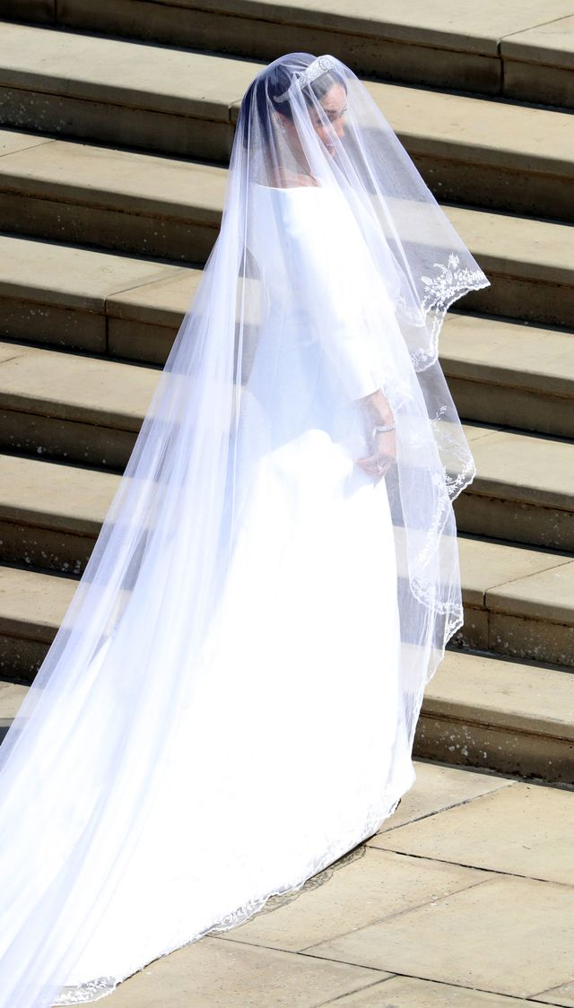 All the Details of Meghan Markle's Givenchy Wedding Dress