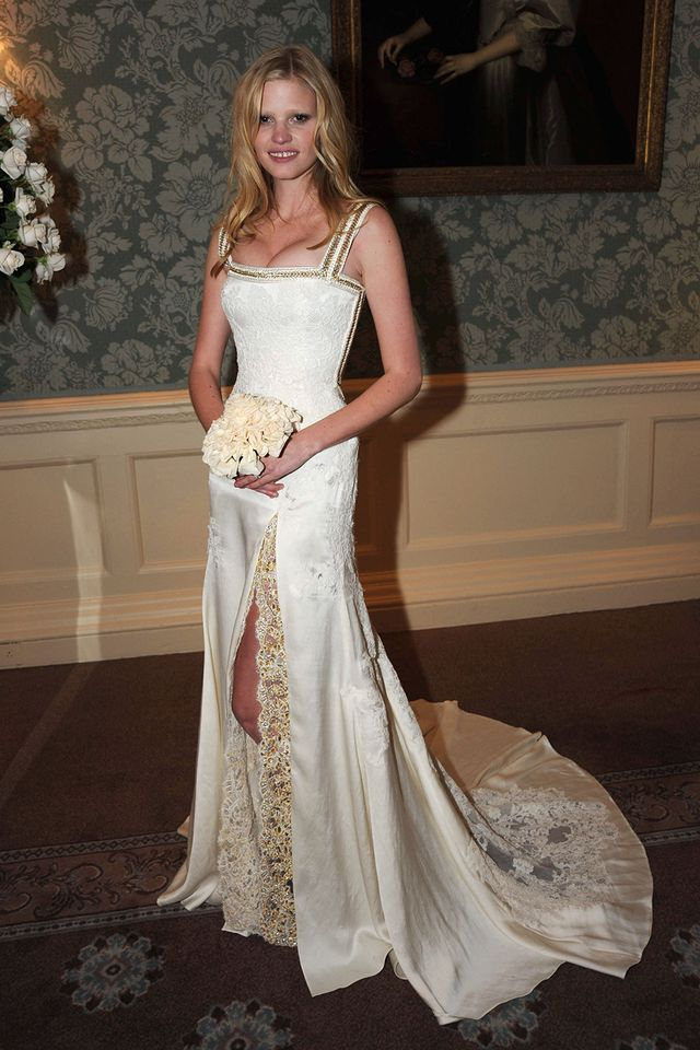 Givenchy wedding dresses meghan markle to audrey hepburn lara stone wearing a givenchy by riccardo tisci bridal gown in 2010 junglespirit Image collections