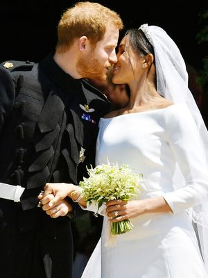 Buh-Bye, Lace Gowns—Meghan Just Changed Wedding Dress Trends Forever