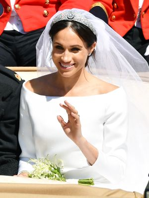 See Meghan Markle's Elegant Wedding Dress From Every Single Angle