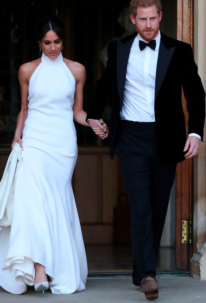 meghan markle second wedding dress stella mccartney: