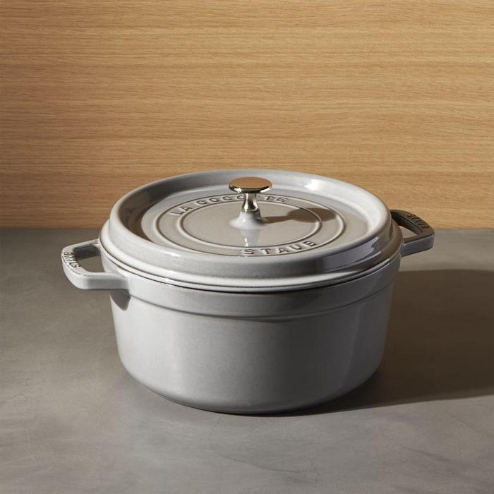 5.5-Qt Graphite Grey Cocotte by Staub