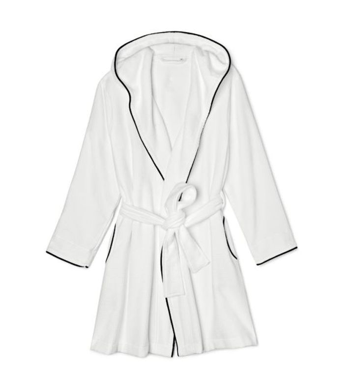 Hooded Waffle Robe by Riley Home