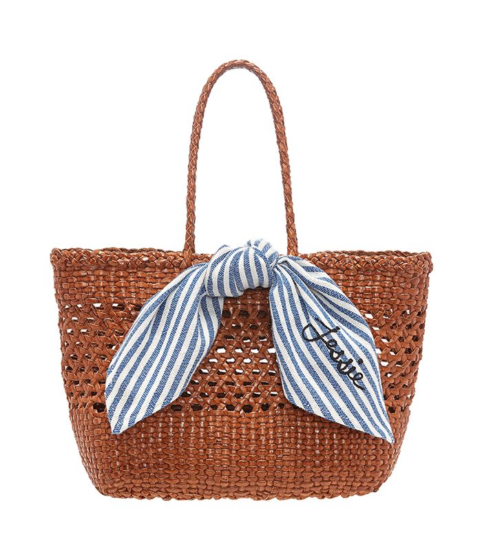 Edith Woven Leather Tote by Loeffler Randall