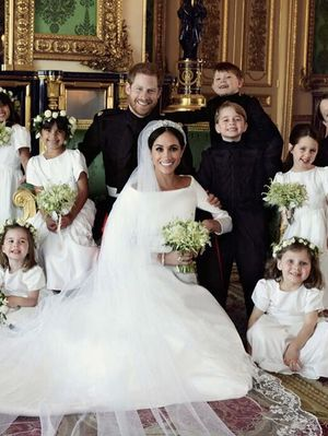 Meghan and Harry's Official Wedding Portraits Are Here—and Couldn't Be Sweeter