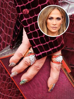 J.Lo Had the Most Expensive Manicure on the Red Carpet Last Night—Here's Why