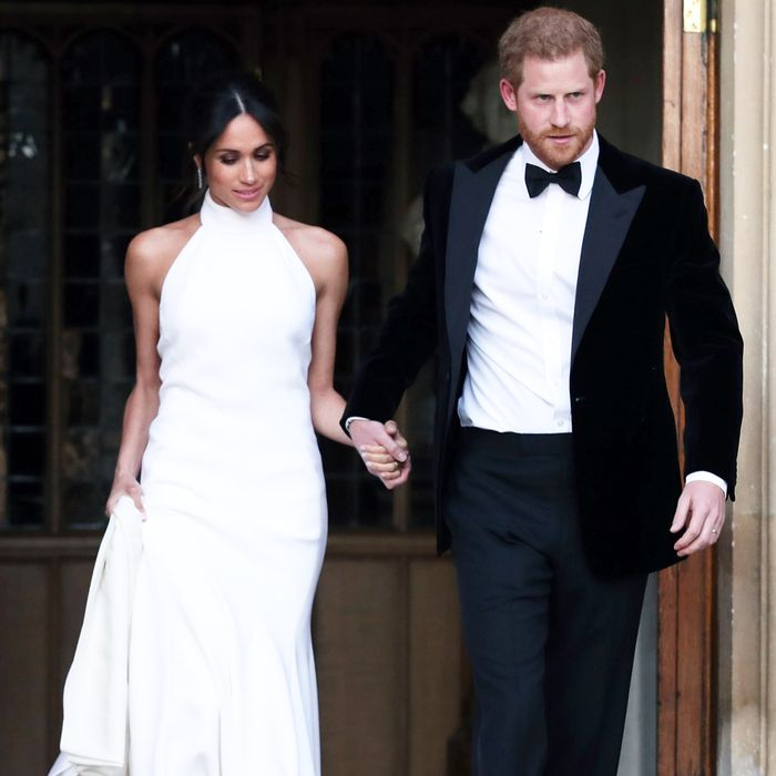 9 Halter Dresses I Suddenly Need Because of Meghan Markle