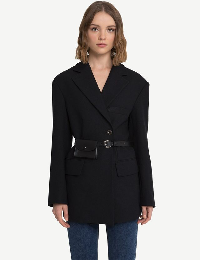 Pixie Market Single Side Button Blazer