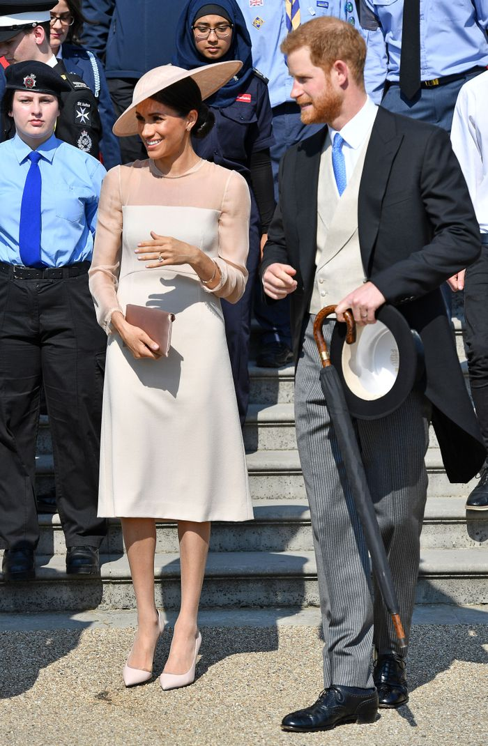 Meghan Markle and Prince Harry Post-Wedding Event