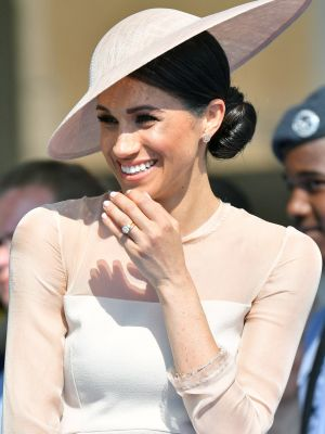 Meghan Markle Made Her First Public Appearance as a Royal (and Looked the Part)