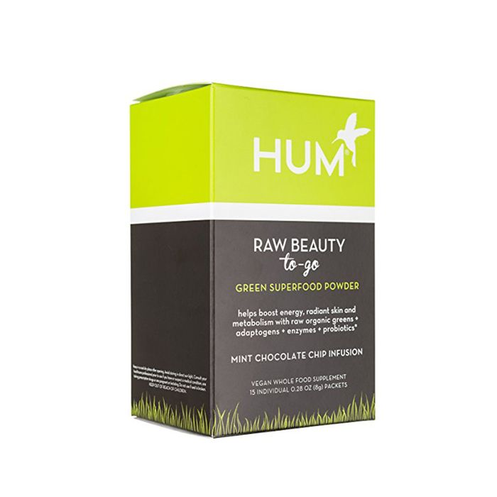Raw Beauty To-Go Green Superfood Powder by Hum Nutrition