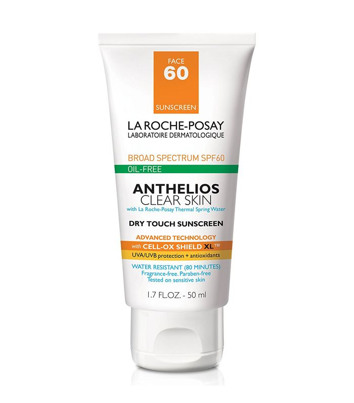 Anthelios Clear Skin Dry Touch Sunscreen SPF 60 by La Roche-Posay
