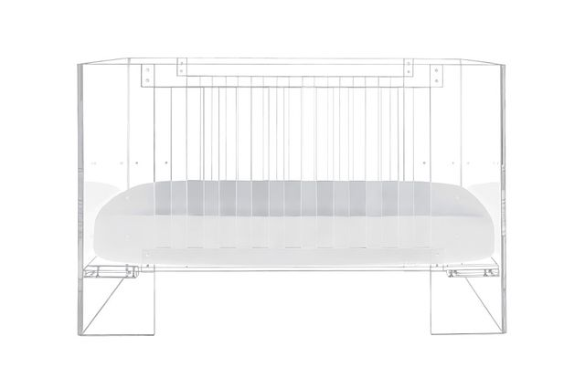 Nursery Works Lucite Vetro Crib