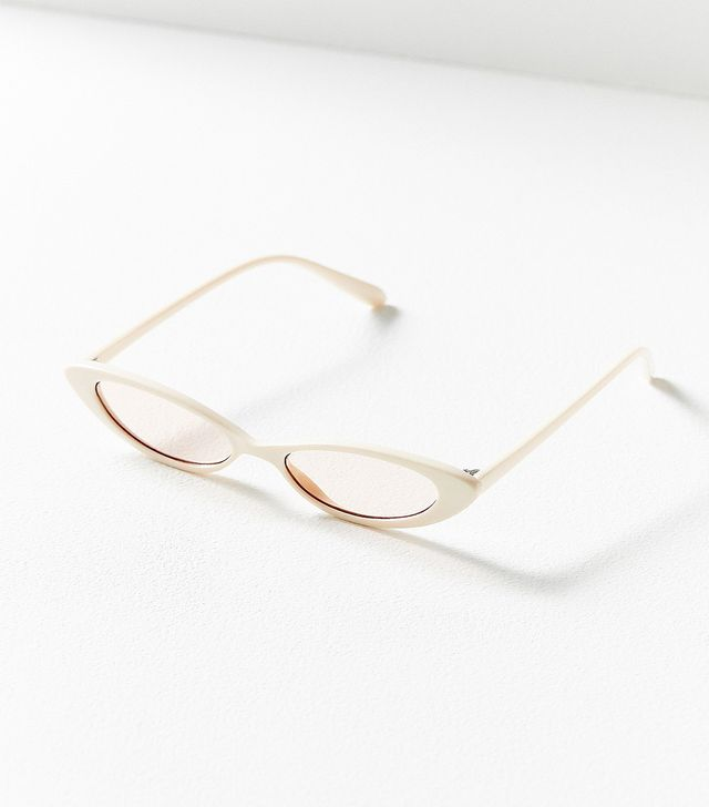 Bella Slim Oval Sunglasses