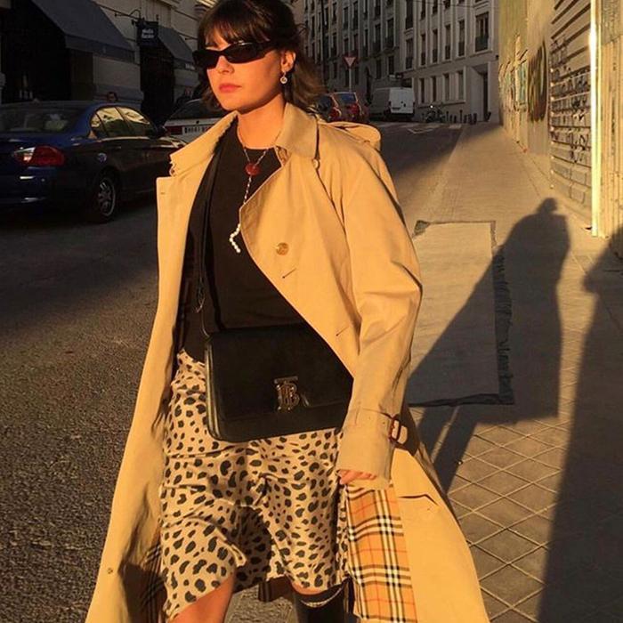 Réalisation leopard skirt: Maria Bernad