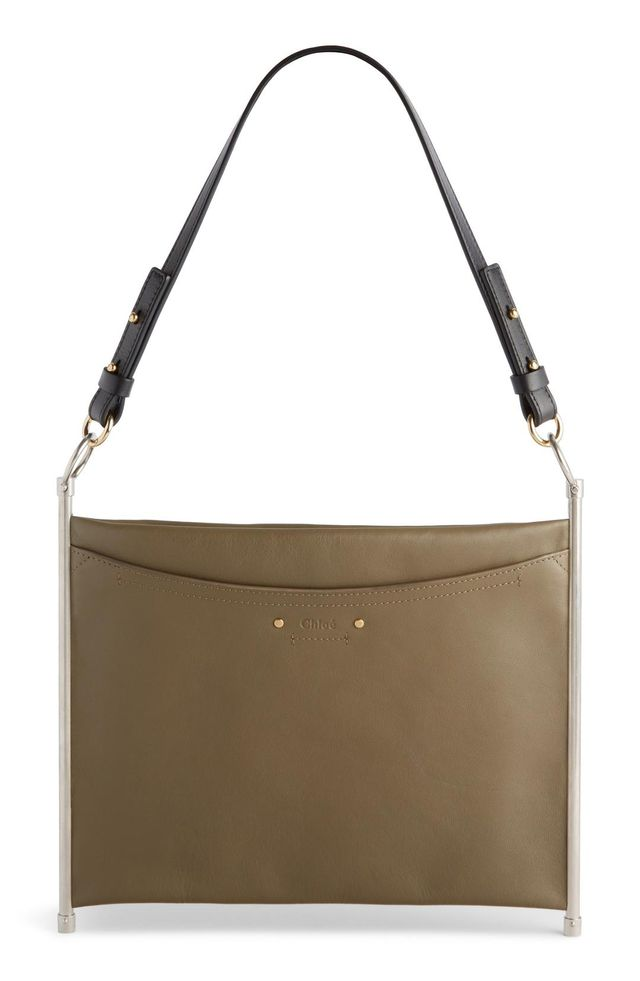 Roy Single Leather Clutch -