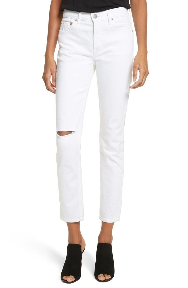 Women's Grlfrnd Naomi High Waist Skinny Jeans