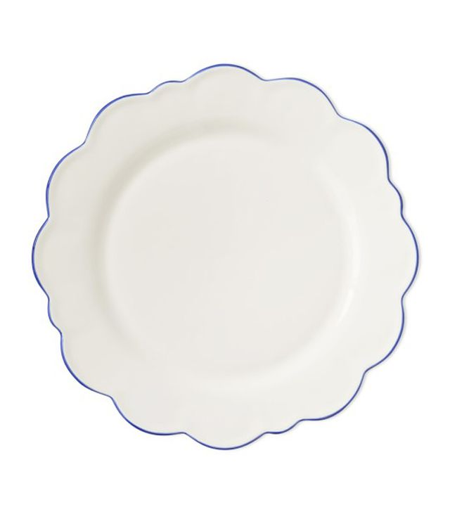 AERIN Scalloped Rim Dinner Plates
