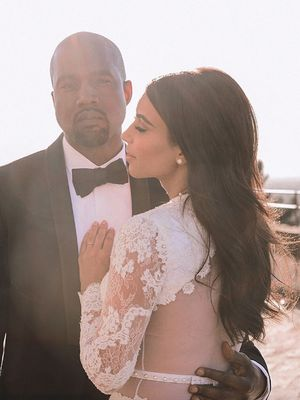 Kim Kardashian West Shared the Sweetest Wedding Photo for Her 4th Anniversary
