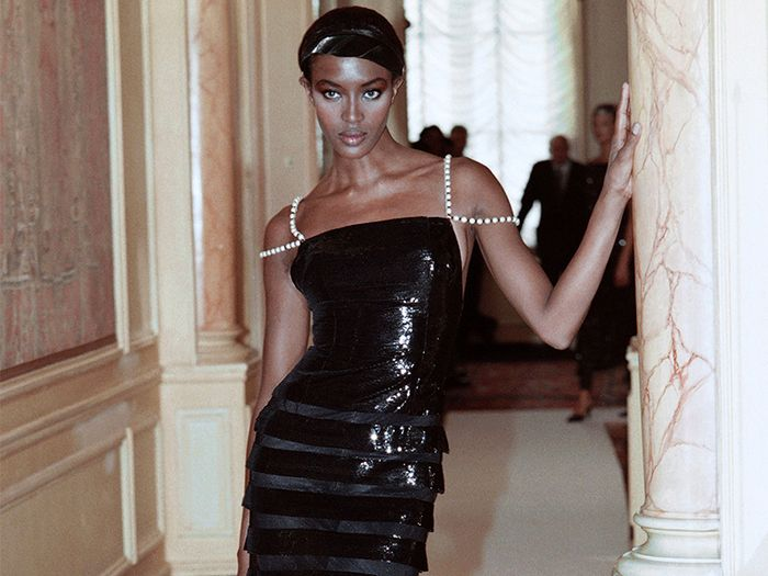 Couture fashion week Naomi Campbell