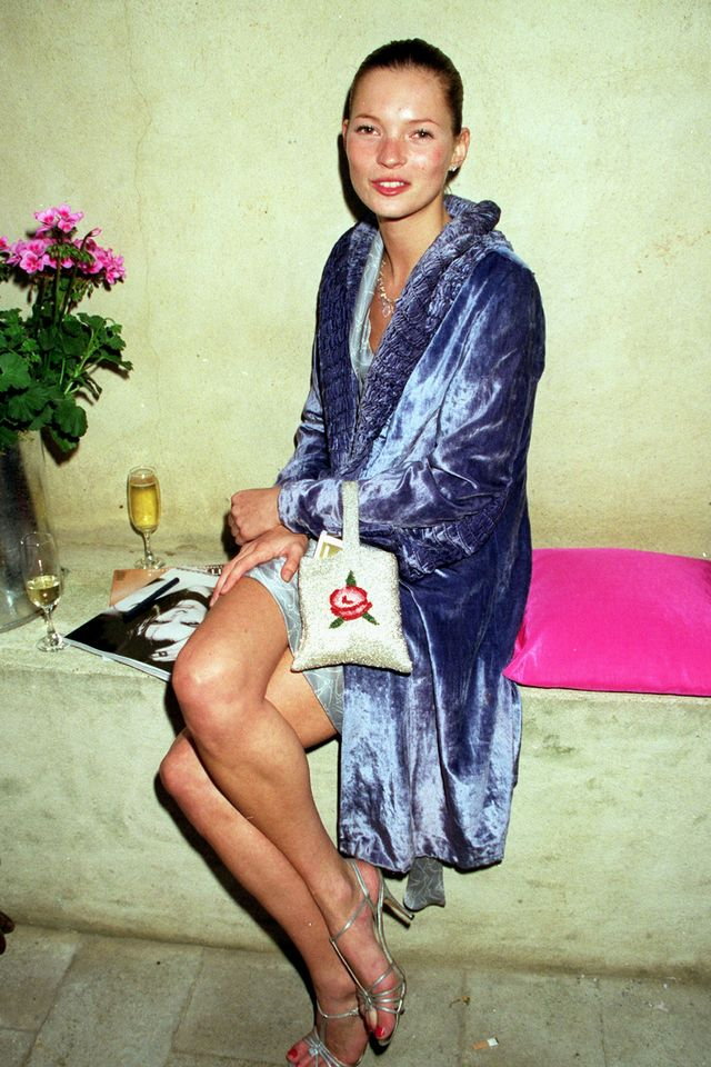 Kate Moss 90s style beaded bags