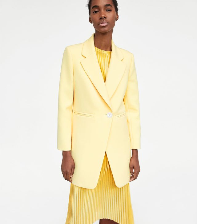 Zara Straight Cut Frock Coat