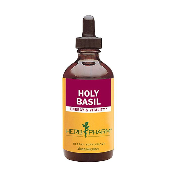Certified Organic Holy Basil (Tulsi) Extract by Herb Pharm