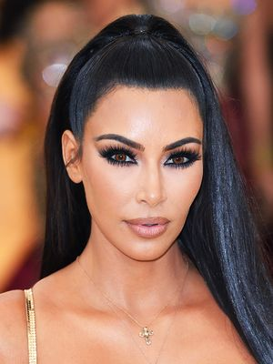Kim Kardashian Posted a Throwback Makeup Photo, and You Have to See Her Brows