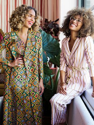 Take a Look Inside Cleo Wade and Elaine Welteroth's Bright and Colourful Office
