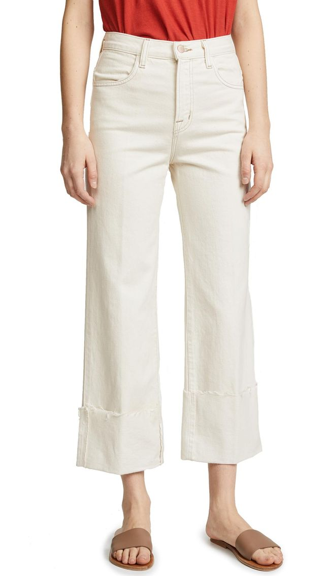 Joan High Rise Crop Jeans