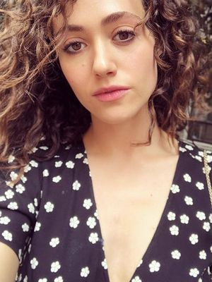 Emmy Rossum Tried 50 Curly-Hair Products so You Don't Have To