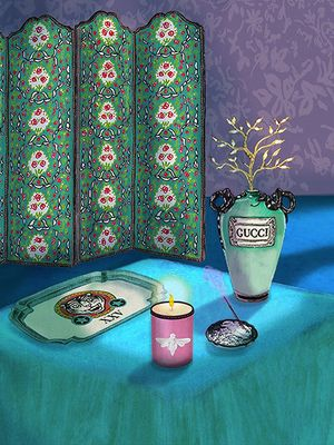 Oh Dear, Gucci's Latest Décor Collection Is Dangerously Impressive