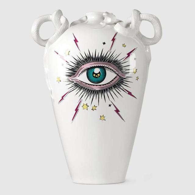 Gucci Star Eye Vase