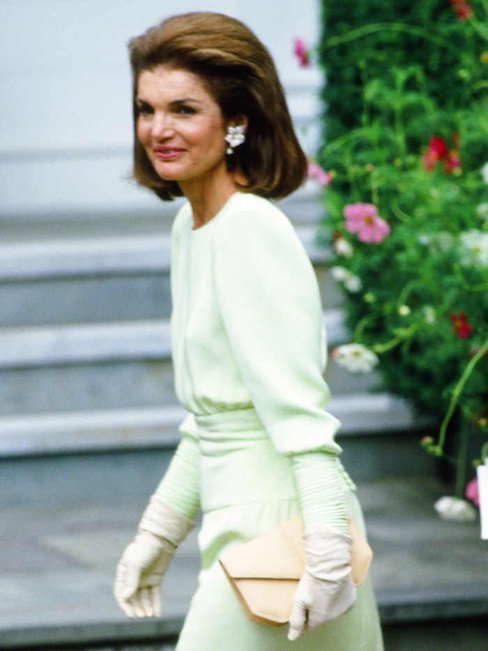 Here S What Jackie Kennedy Wore To Her Daughter S Wedding Who What Wear