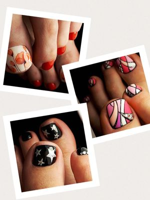Your Fingernails Aren't the Only Place for Nail Art—Try These Fun Toe Designs
