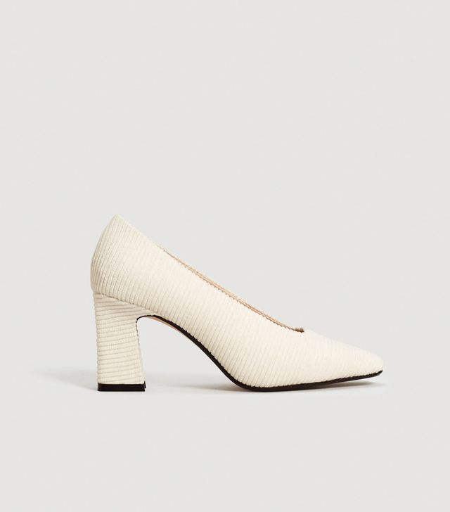 Textured Heeled Shoes