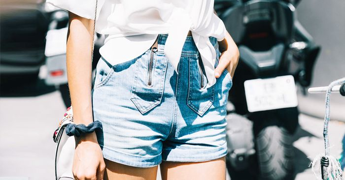 6 Flattering Denim Shorts and How to Style Them