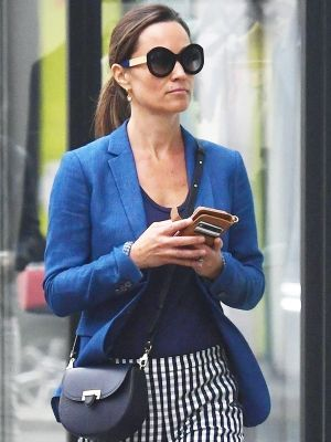 Pippa Middleton Found the Perfect Outfit Combo to Wear With Flats