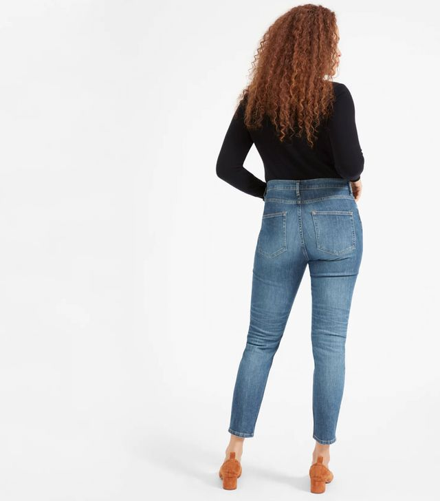 Women's High-Rise Skinny Jean (Regular) by Everlane in Mid Blue, Size 32