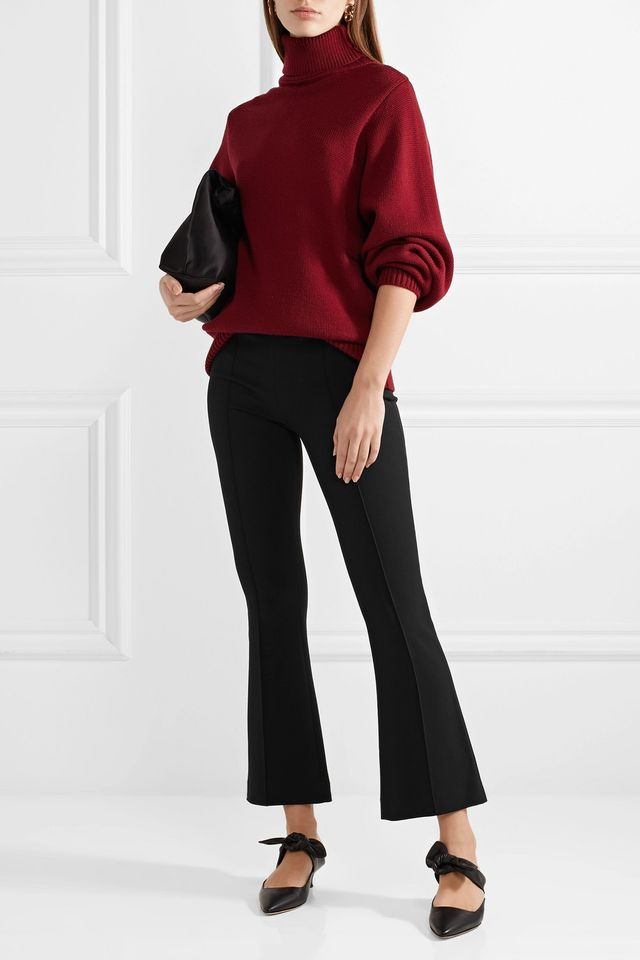 The Row Beca Cady Flared Pants
