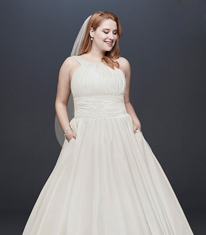 20 Halter Wedding Dresses for a Summer Wedding   Who What Wear