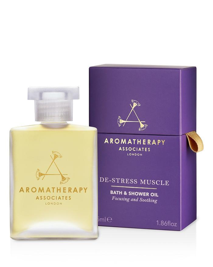 De-Stress Muscle Bath & Shower Oil by Aromatherapy Associates